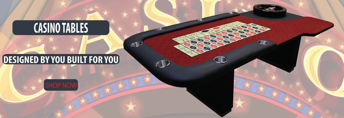 custom built casino tables blackjack roulette