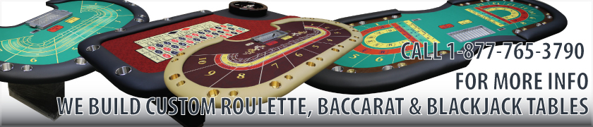 Custom Casino Tables