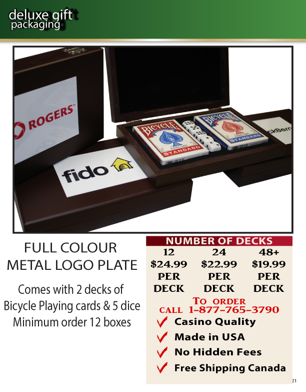Custom Playing Card Packaging Options 2