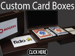 Custom Wood Playing Card Boxes
