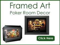 Framed Poker Art