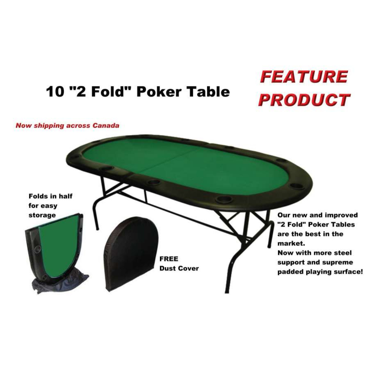 2 fold poker table poker tables straight poker supplies for 10 player poker table