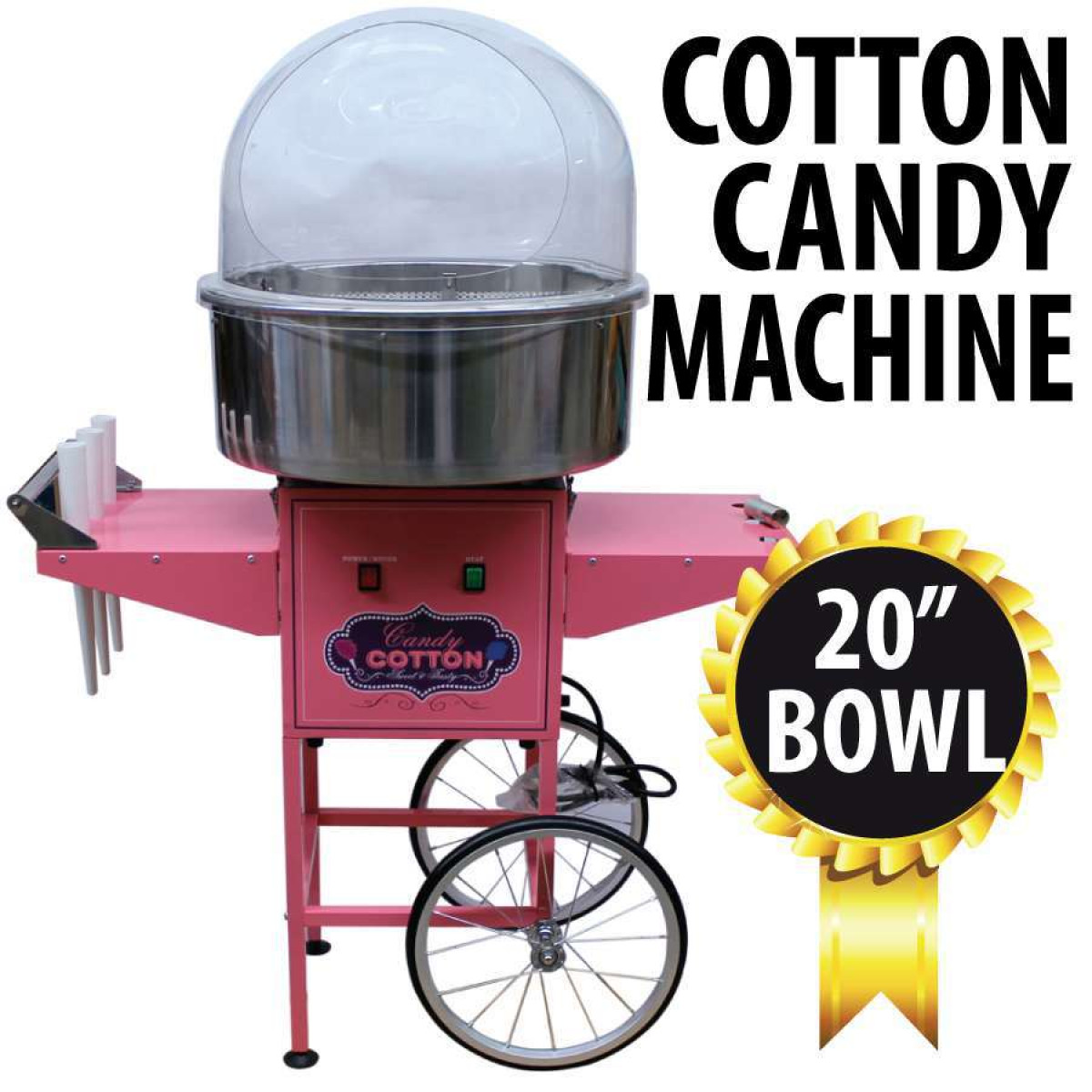 used commercial cotton machine