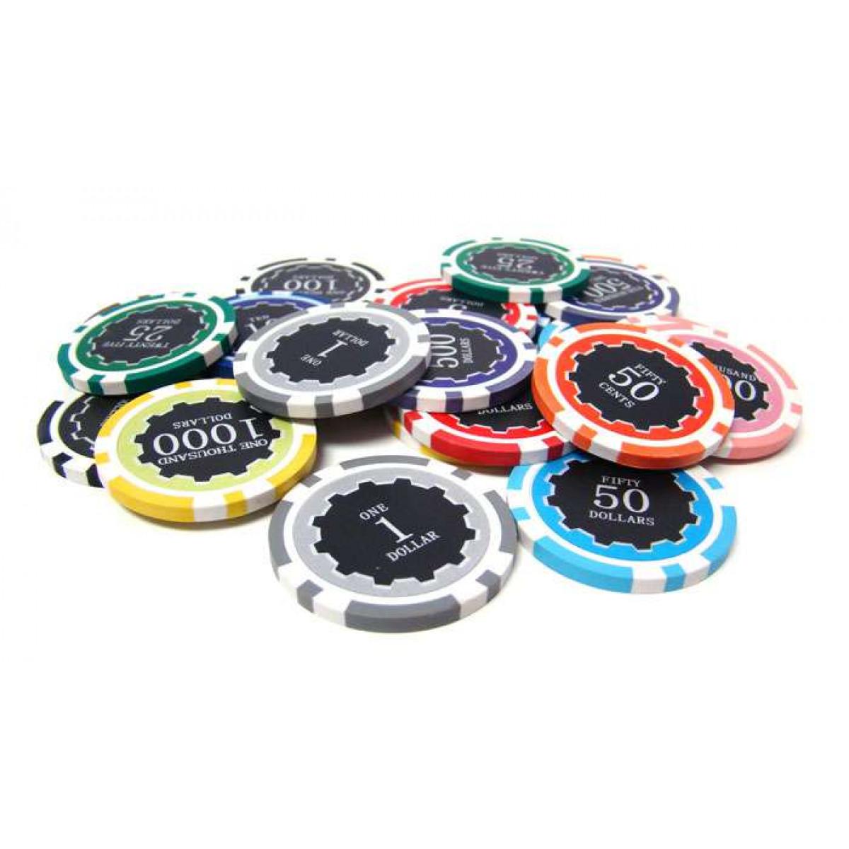 500 poker chip set breakdown
