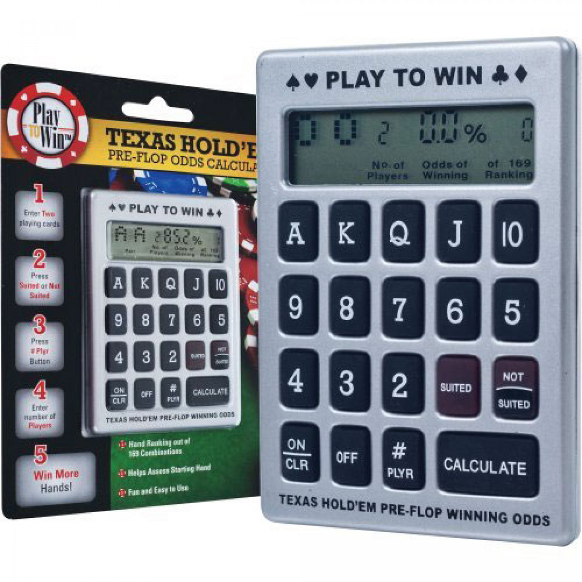 Texas Odds Calculator