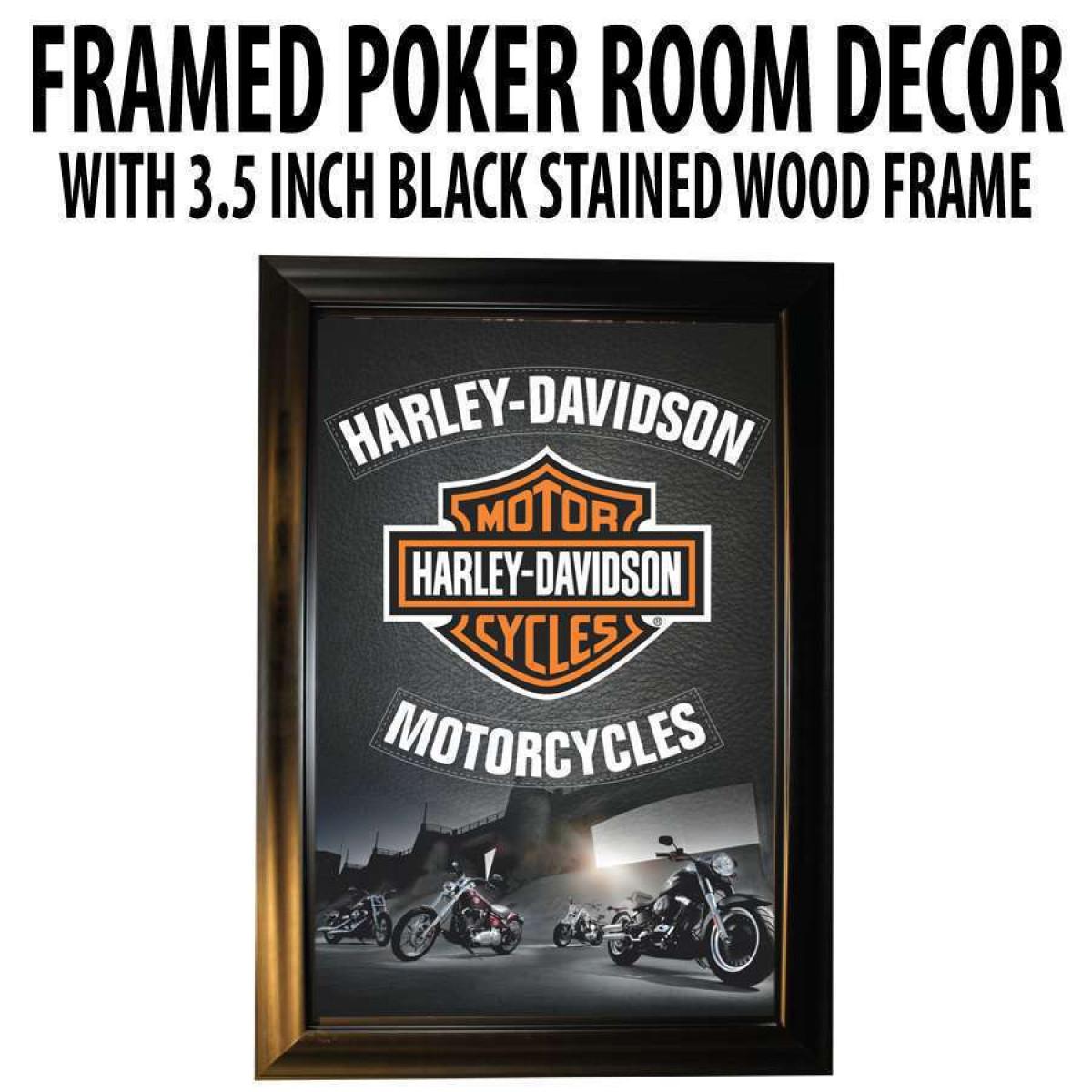 Poker Room Decor