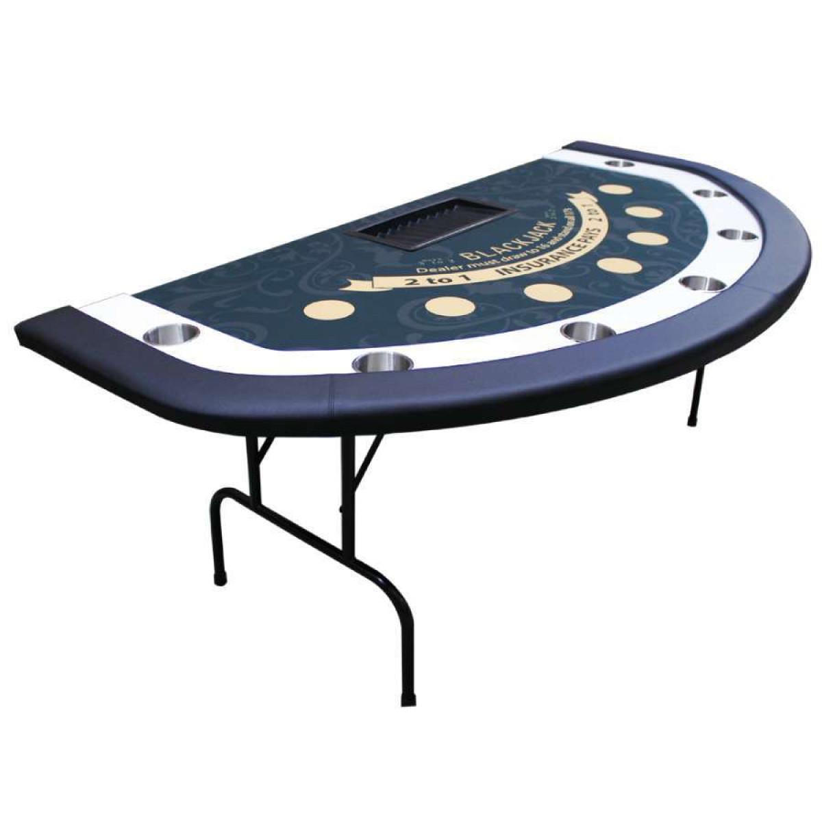 Blackjack table top felt