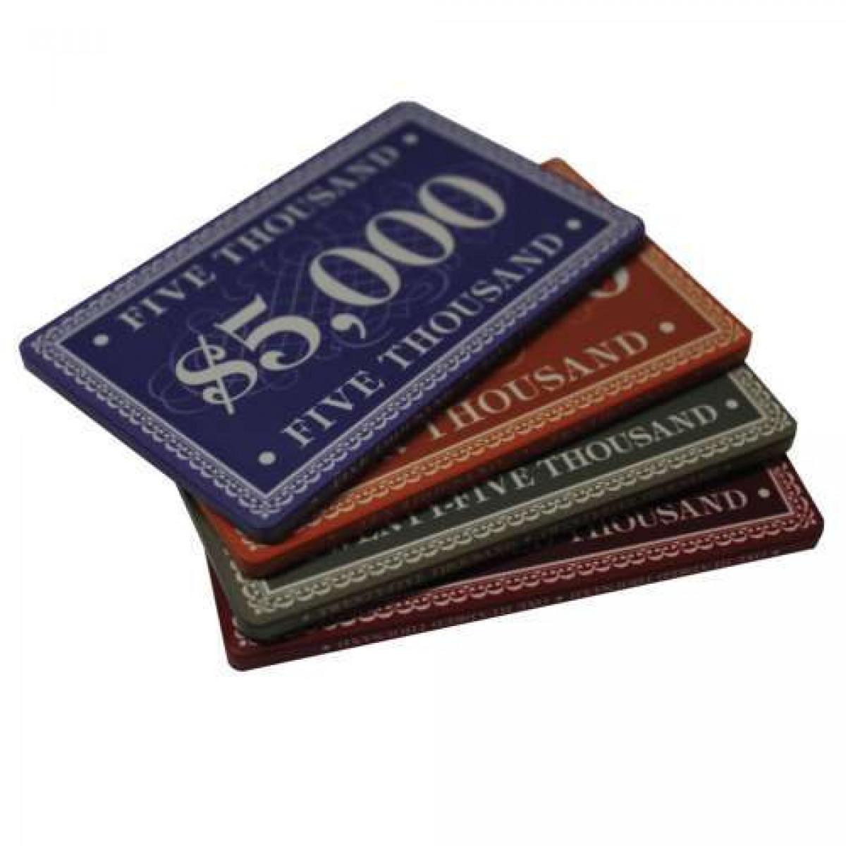 Poker Plaques