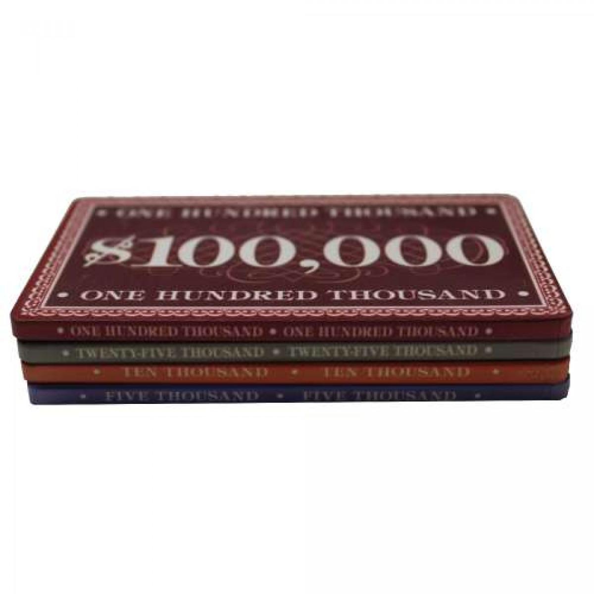 Prestige Poker Plaques Ceramic Plaque Straight Poker