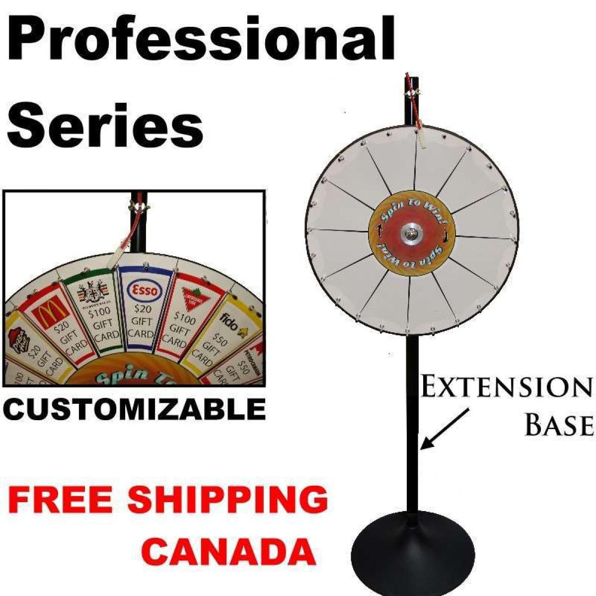 Pocket Prize Wheel Custom Prize Wheels Straight Poker