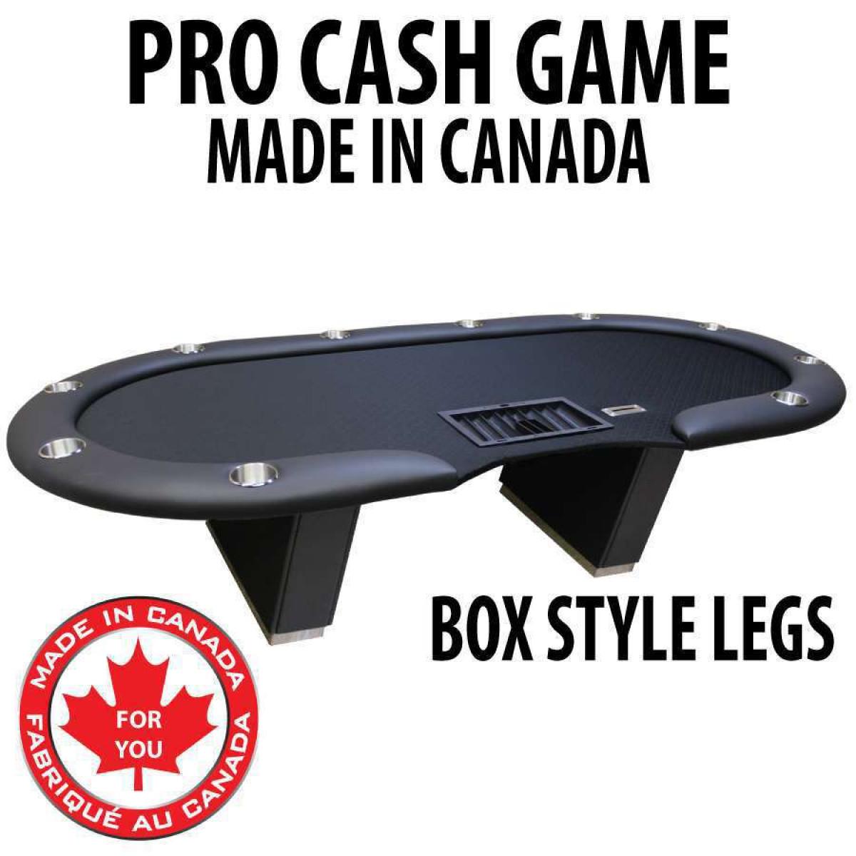 Black Poker Tables | Poker Table | Straight Poker Supplies