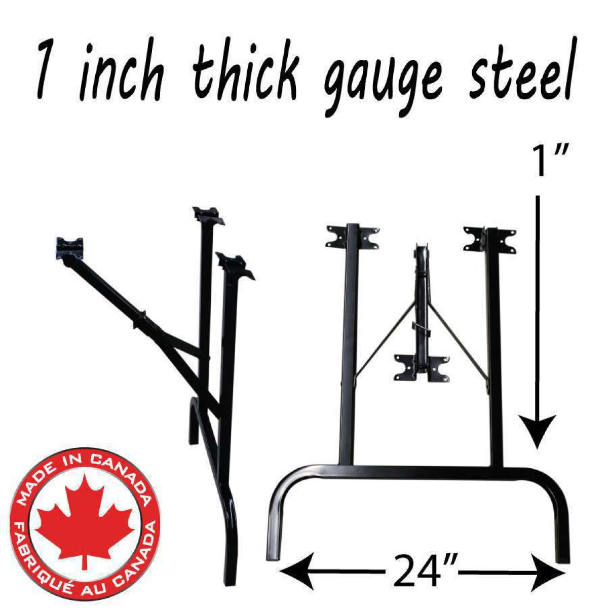 - Steel Folding Table Legs