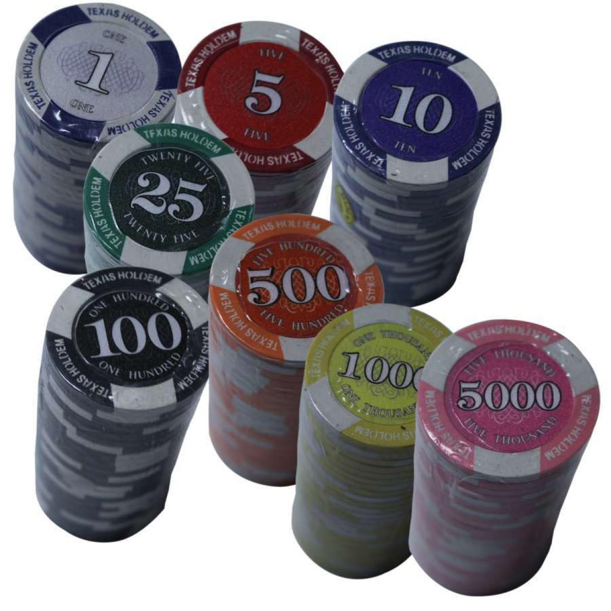 Poker Chip Rolls Prestige Poker Chip Straight Poker