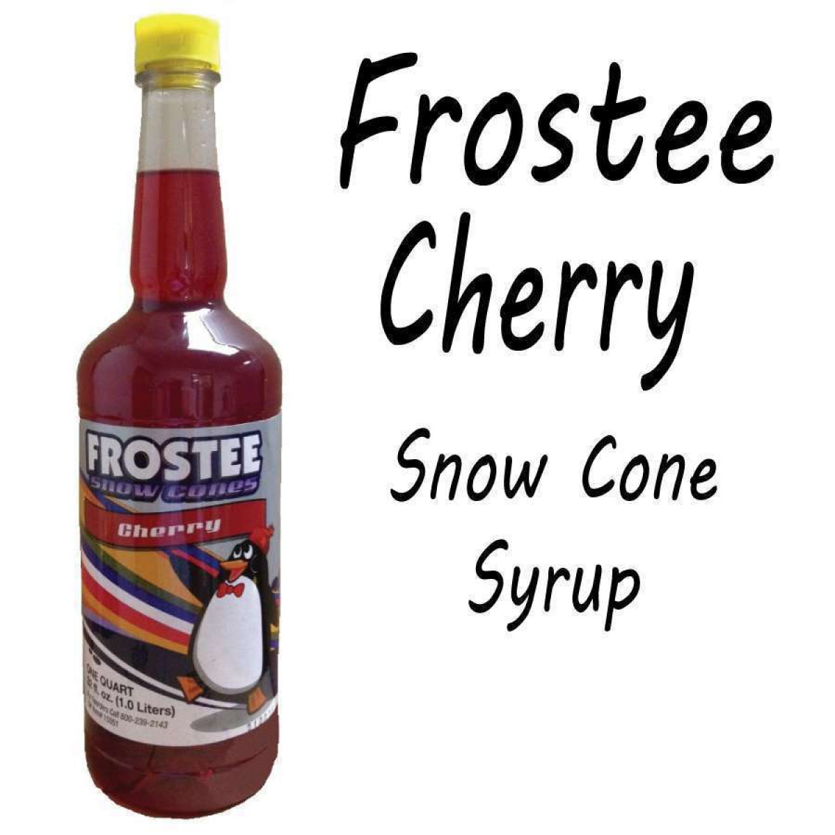 snow cone machine with syrup