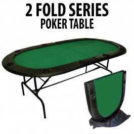 2 Fold Series 10 Player Folding Poker Table