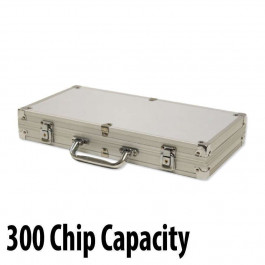 300 capacity : Casino Poker Chip Aluminum Case