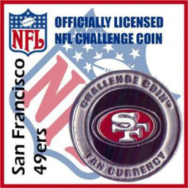 Poker Protector Card Guard Cover : NFL San Francisco 49ers