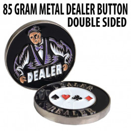85g Metal 2.25 inch Dealer Button