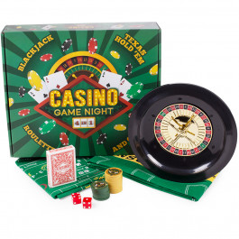 Casino Game Night | 4 Games in 1 Roulette, Blackjack, Poker and Craps