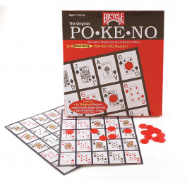 Pokeno Game Board set with Pokeno Chips