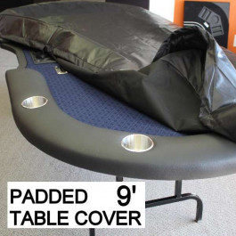 Poker Table Cover Professional Heavy Duty Padded Size 9 Feet