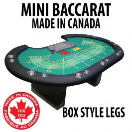 Pro Series Mini Baccarat Table : 7 Player