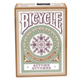Bicycle Playing Cards AUTUMN Plastic Coated Cards