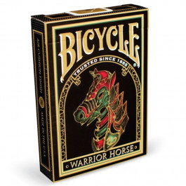 Bicycle Playing Cards WARRIOR HORSE Plastic Coated Cards