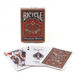 Bicycle Playing Cards Dragon Back Gold