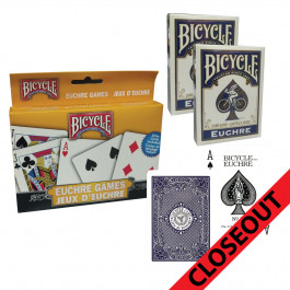Bicycle Playing Cards Euchre 2 Pack Set Closeout