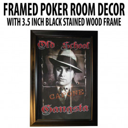 Poker Room art decor Framed Art  : Al Capone
