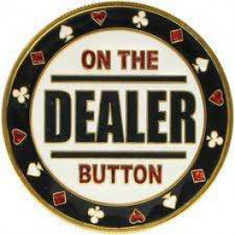 Poker Protector Card Guard Cover in Capsule :  On The Dealer