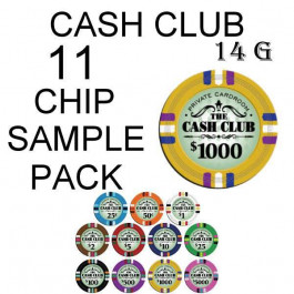 Cash Club 14g SAMPLE PACK 11 CHIPS