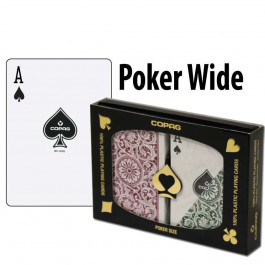 Copag Playing Cards Elite Poker Green/Burgundy Regular Index