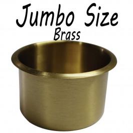 Jumbo size Cup Holder BRASS for Poker or Blackjack Table