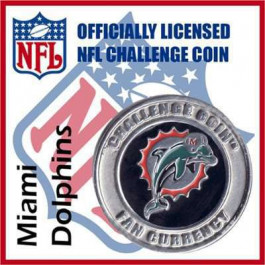Poker Protector Card Guard Cover : NFL Miami Dolphins