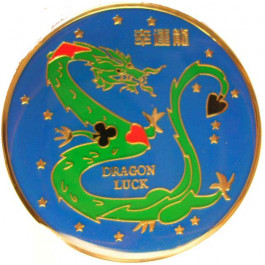 Poker Protector Card Guard Cover : Dragon Luck