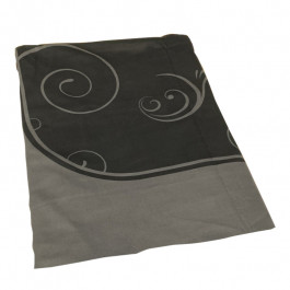 Dye Sublimation Casino Poker Table Cloth - BLACK 9-FOOT GRAND Design