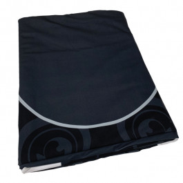 Dye Sublimation Casino Poker Table Cloth - BLACK ELITE Design