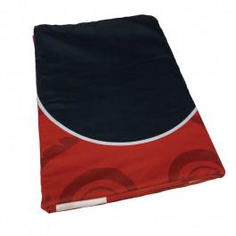 Dye Sublimation Casino Poker Table Cloth - RED ELITE Design