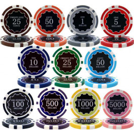 Eclipse Poker Chips 14g Non-Holographic Chips : Sold by the roll