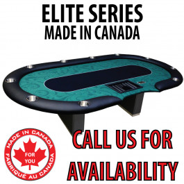 POKER TABLE SPS ELITE - Green Dealer Table With Box Style Legs