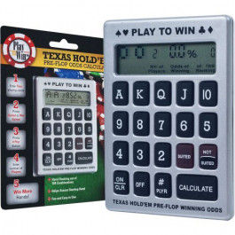 Texas Hold'em Poker Pre-Flop Odds Calculator - Learning Tool - CLEARANCE