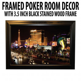 Poker Room art decor Framed Art  : Vegas Strip