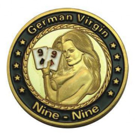 Poker Protector Card Guard Cover in Capsule :  German Virgin Nine Nine