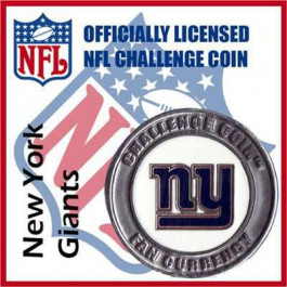Poker Protector Card Guard Cover : NFL New York Giants