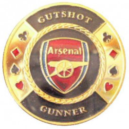 Poker Protector Card Guard Cover in Capsule :  Gutshot Arsenal Gunner
