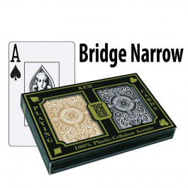 Kem Playing Cards Arrow Bridge Jumbo Black/Gold