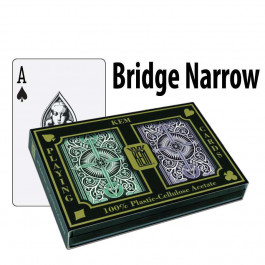 Kem Playing Cards Arrow Bridge Regular Green / Brown