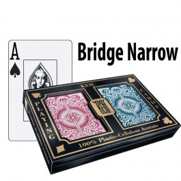 Kem Playing Cards Arrow Bridge Jumbo Red/Blue